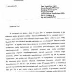 Pismo odRzecznika Praw Obywatelskich wsprawie kart parkingowych