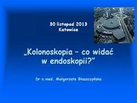Kolonoskopia – co widać wendoskopii?