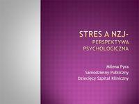 Stres aNZJ - perspektywa psychologiczna