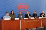 """19.05.2015 r. - Konferencja prasowa Towarzystwa """"J-elita""""w Centrum Prasowym PAP wWarszawie"""