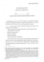 """Projekt rozporządzenia Ministra Zdrowia """"w sprawie wykazu wyrobów medycznych wydawanych nazlecenie"""