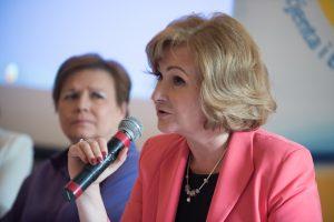 Prof. Rydzewska iMałgorzata Mossakowska (fot.Instytut Praw Pacjenta iEdukacji Zdrowotnej)