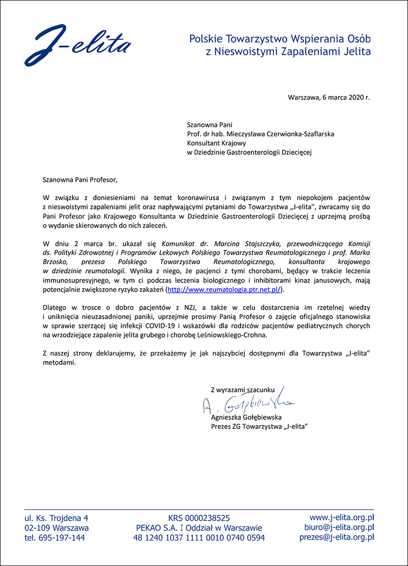 Koronawirus-prośba-rekomendacje-Towarzystwa-J-elita