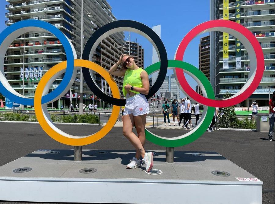 12. Jenny Carlson wwiosce olimpijskiej (fot.Instagram Athletewithstoma)